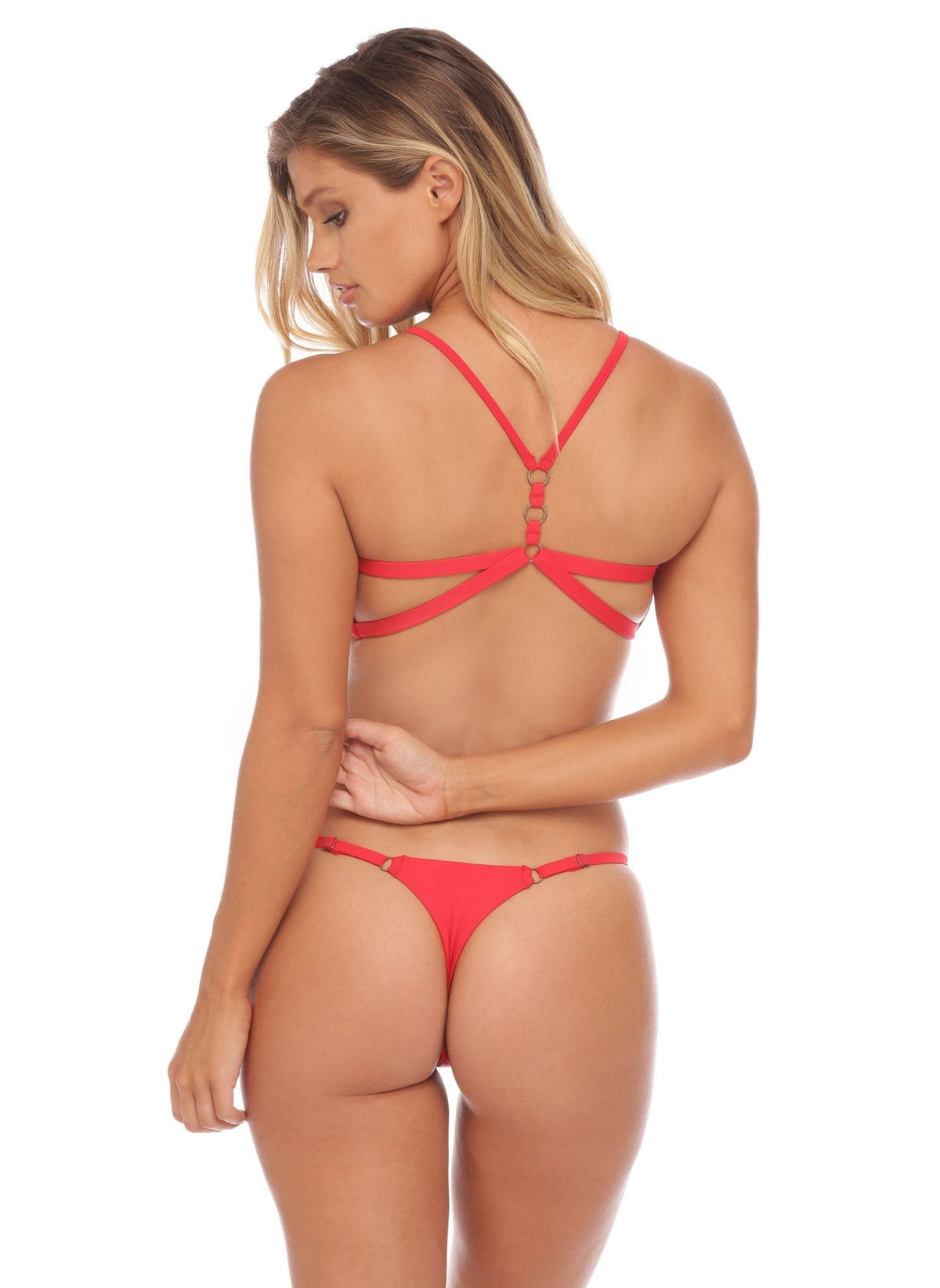 Jessica Bottom - Brazilian - Red - Salty Mermaid Swim