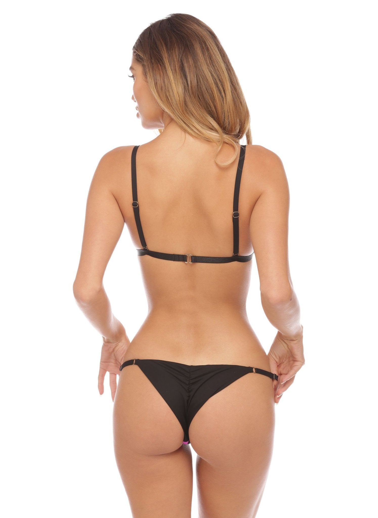 Jessica Bottom - Cheeky - Black - Salty Mermaid Swim