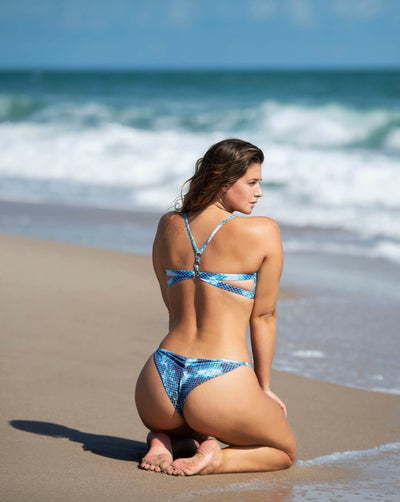 Jessica Bottom - Cheeky - Ocean - Salty Mermaid Swim