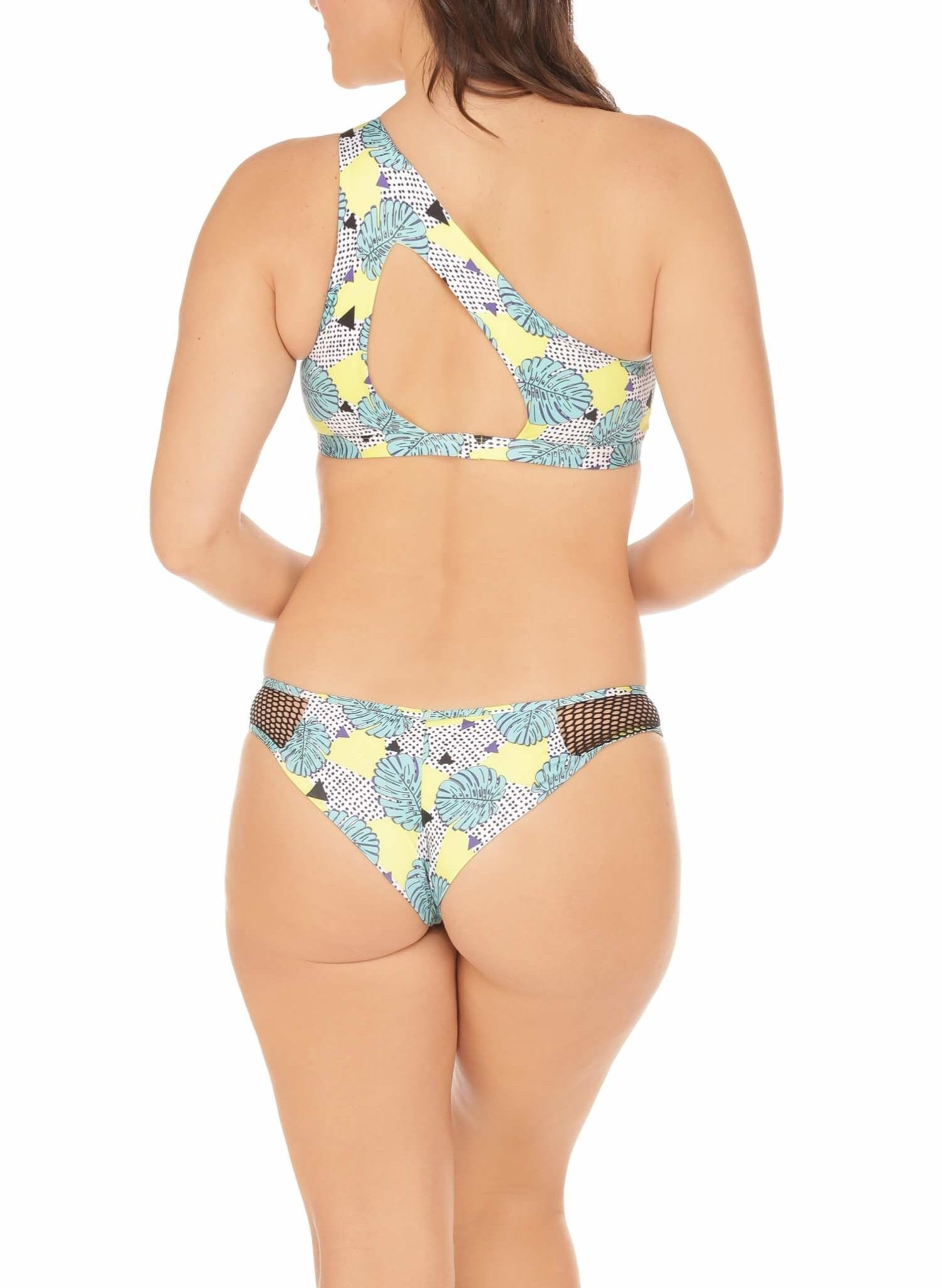 Lanika Bottom - Cheeky - Neon Palm
