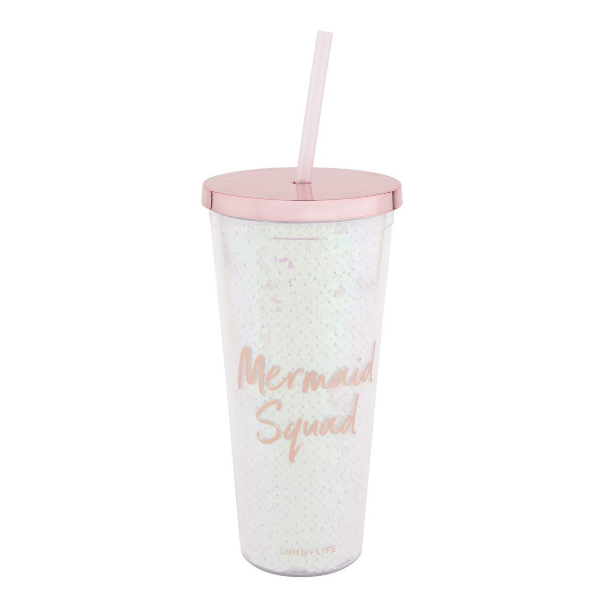 Mermaid Tumbler - Iridescent - Salty Mermaid Swim