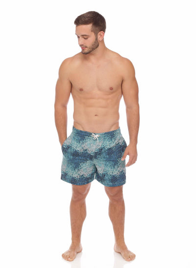 Ocean Ombre Mens Trunks - Salty Mermaid Swim
