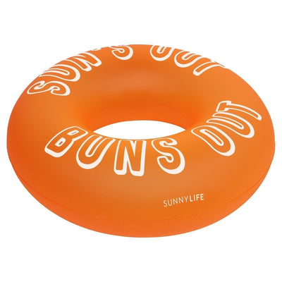 Pool Ring - Neon Orange - Salty Mermaid Swim