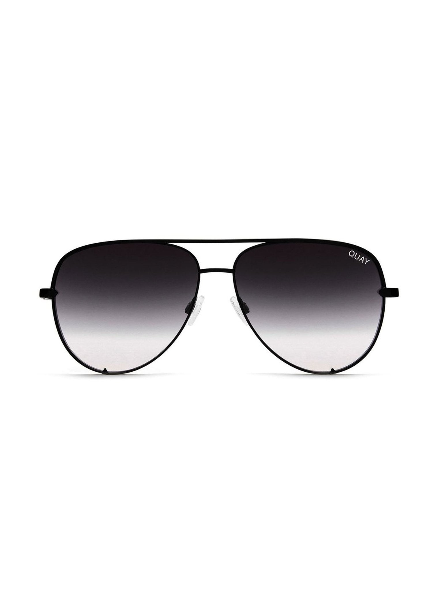 Quay High Key Sunglasses - Black - Salty Mermaid Swim