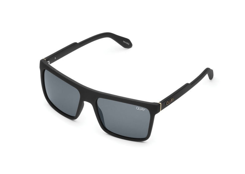 Quay Let It Run Sunglasses - Black - Salty Mermaid Swim