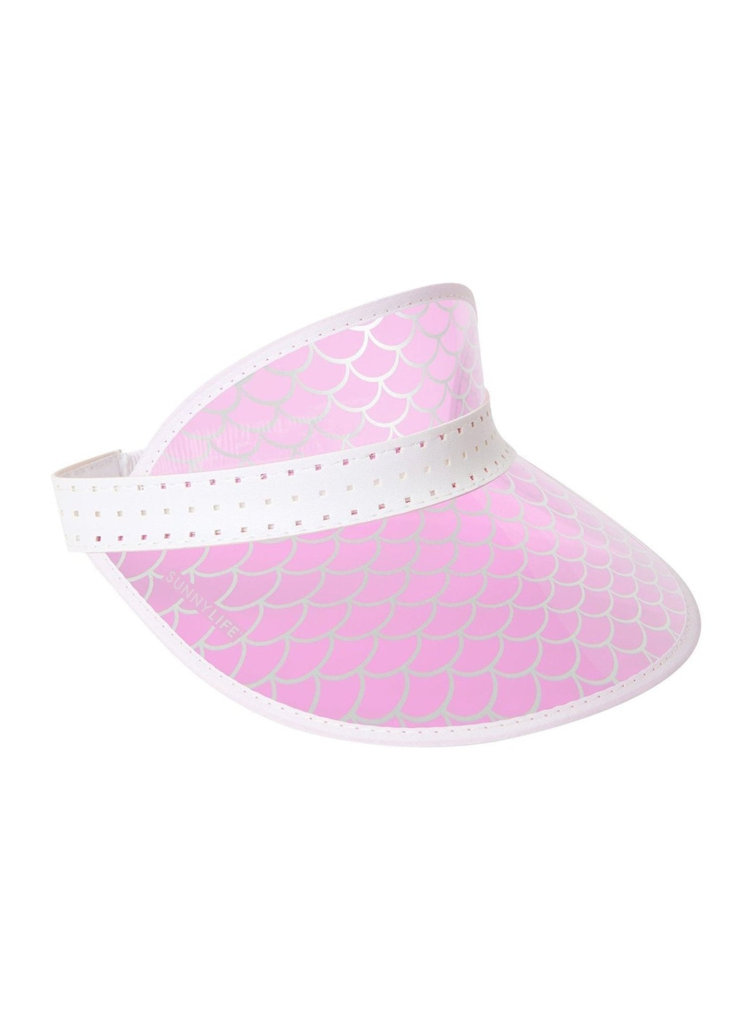 Retro Sun Visor - Mermaid - Salty Mermaid Swim