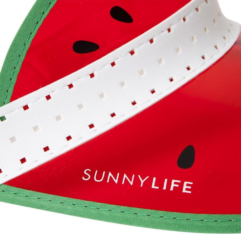 Retro Sun Visor - Watermelon - Salty Mermaid Swim