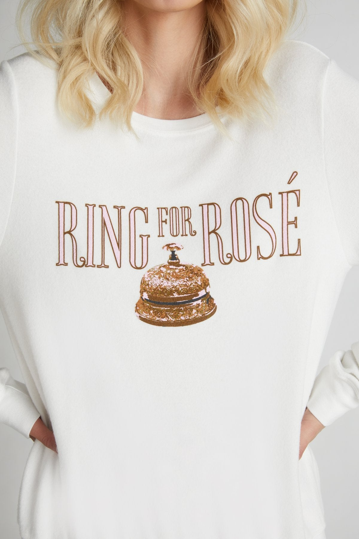 Ring for Rosé Baggy Beach Sweater - Salty Mermaid Swim