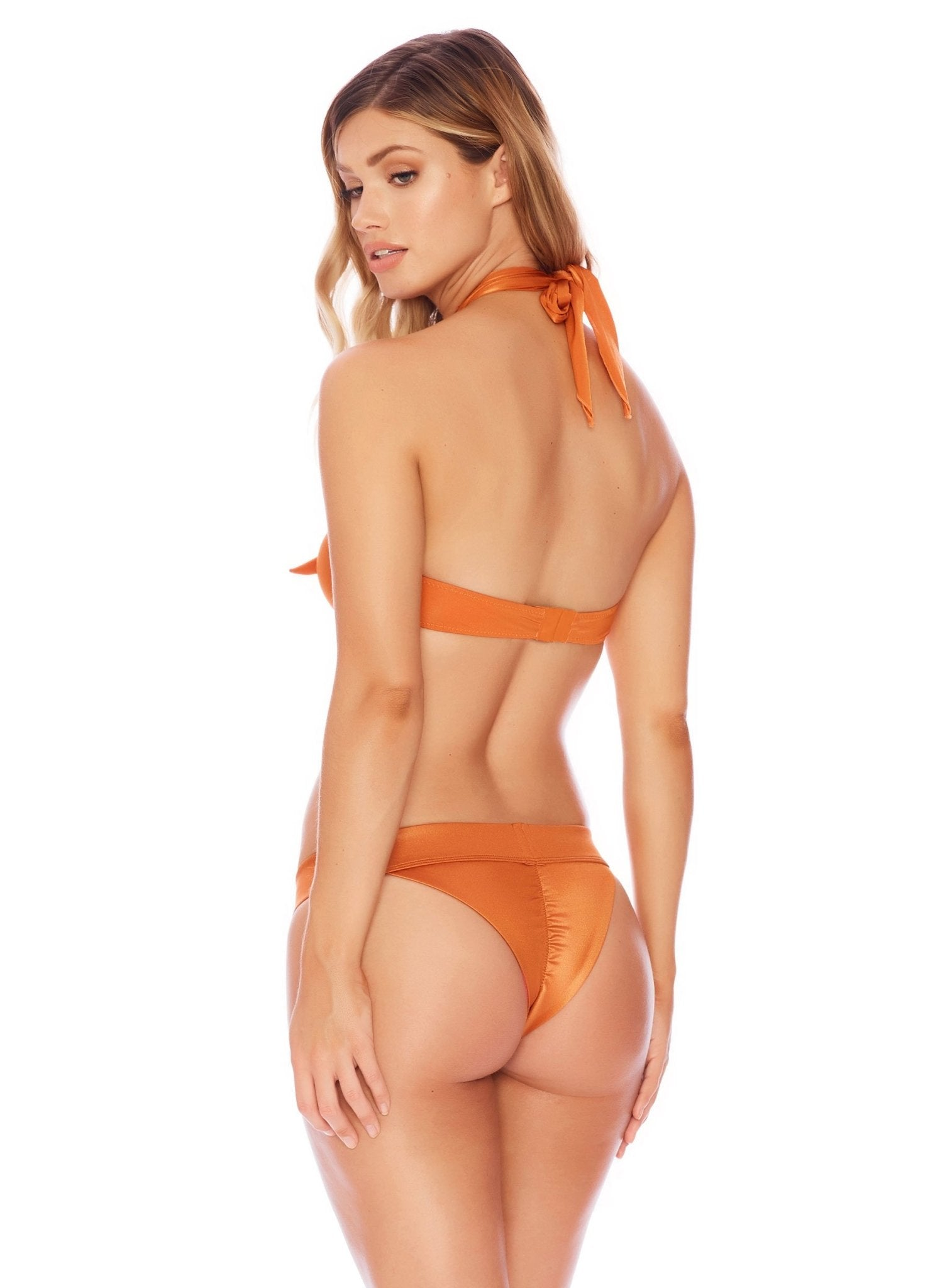 Solid Bottom - Semi Brazilian - Salty Mermaid Swim