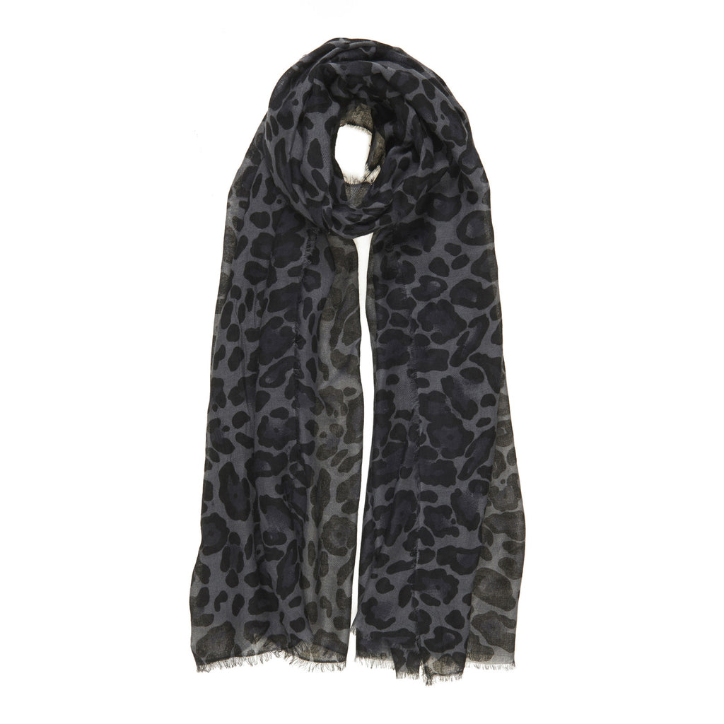Baby Wool Leopard in Grey or Brown