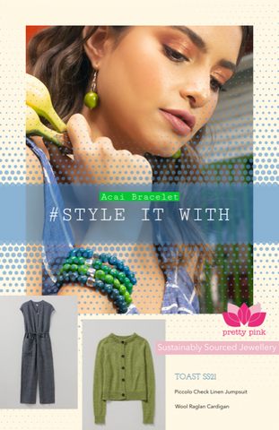 eco jewellery to go with accessorise clothing