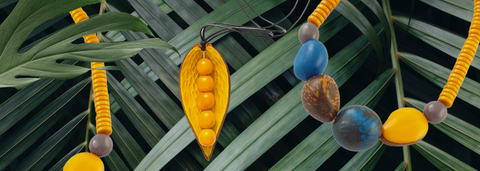 Summer Yellow Jewellery Collection