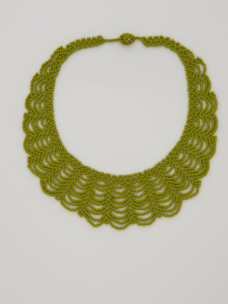 Lime Green Renda Necklace - Pretty Pink Jewellery