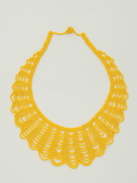 Yellow Renda Necklace - Pretty Pink Jewellery