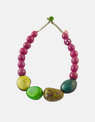 Katia Necklace - Pretty Pink Jewellery