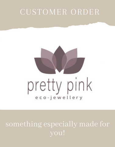 Custom Order - Pretty Pink Jewellery