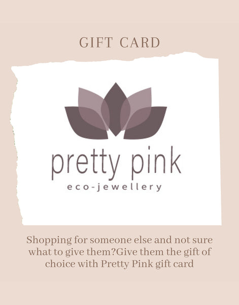 GIFT CARD - Pretty Pink Jewellery
