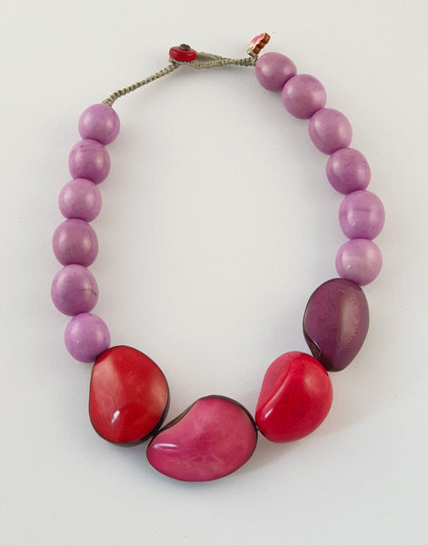 Berries Katia Necklace - Pretty Pink Jewellery