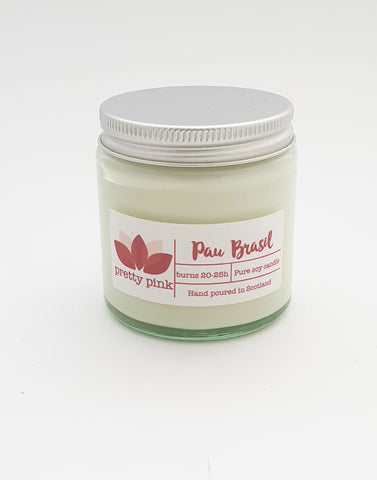 Pau Brasil Soy Wax Candles - Pretty Pink Jewellery