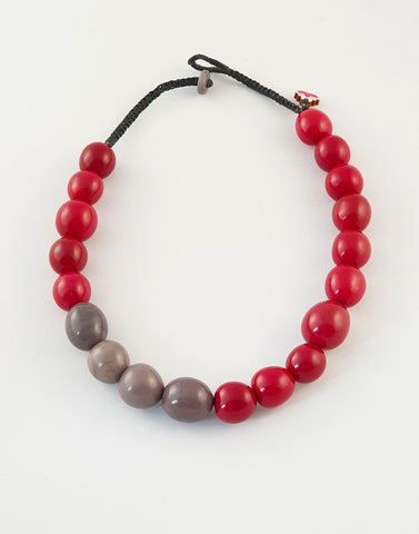 Carola Tagua Nut Necklace - Pretty Pink Jewellery
