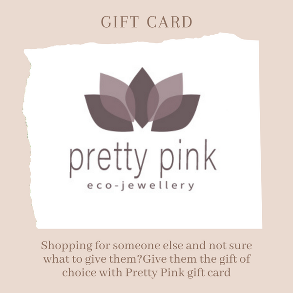 £10.00 GIFT CARD - Pretty Pink Jewellery