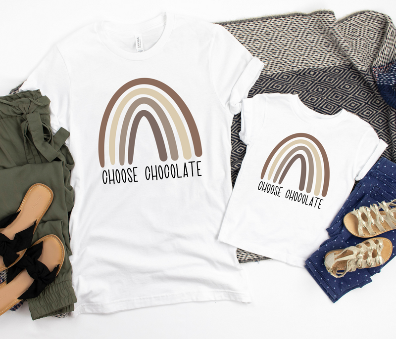 Choose Chocolate T-shirt | Family Tee | Multiple Sizes