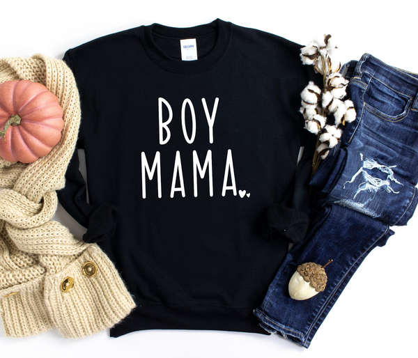 Boy Mama Sweatshirt | Mom sweater, Boy Mom sweatshirt, Gift for mom, gender reveal, birth announcement