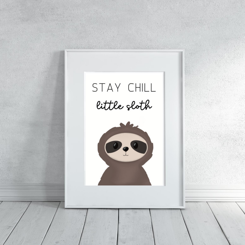 Be a Zoo Animal Collection - Digital Art Print