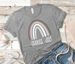 Choose Joy T-Shirt | Youth and Adult Size t-shirt | Multiple Colors