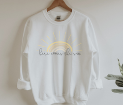 Here Comes The Sun Adult Sweatshirt