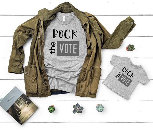 VOTE Shirt | Rock the Vote Shirt, Voting Shirt, Voting T-Shirt, Vote Shirt for Women, Vote Shirt for Men, Election 2020, T-shirt