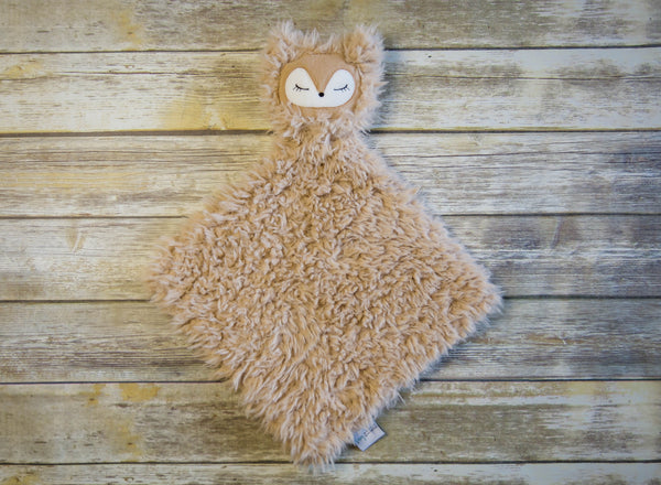 Poppy the Fox - SNUG•A•LOVEY® - Sand Beige