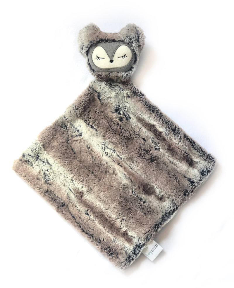 Scout the Fox- SNUG•A•LOVEY® by Lark and Rose® - Grey and Copper