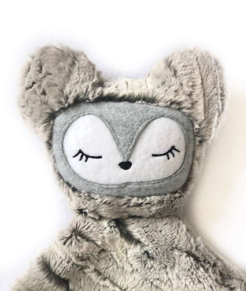 Willow the Fox- SNUG•A•LOVEY® by Lark and Rose® - Silver Cloud