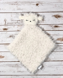 Lanie the Lamb - SNUG•A•LOVEY ® - Cream with Ivory Face