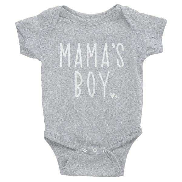 MAMA's Boy Baby Bodysuit or Toddler Shirt | Matching Shirts