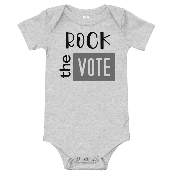 Rock the Vote bodysuit | Block Vote Infant bodysuit
