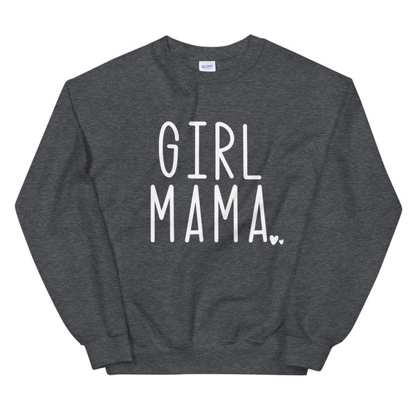 Girl Mama Sweatshirt | Mom sweater, Boy Mom sweatshirt, Gift for mom, gender reveal, birth announcement, Comfy sweater, matching family