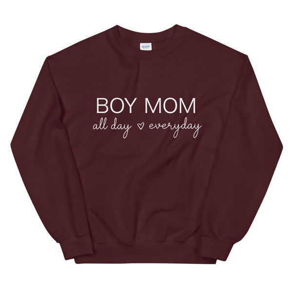 Boy Mom All Day Everyday Sweatshirt