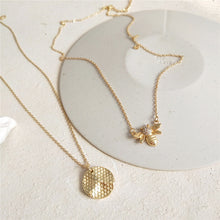 Load image into Gallery viewer, Maya - Bee & Honeycomb Pendant - aalto-store