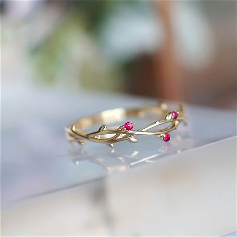 Lucy - Rosebud Ring - aalto-store