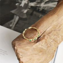 Load image into Gallery viewer, Emily - Three Gems Wrapped Ring - aalto-store