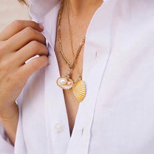 Load image into Gallery viewer, Willow - Pearl Shell Necklace - aalto-store
