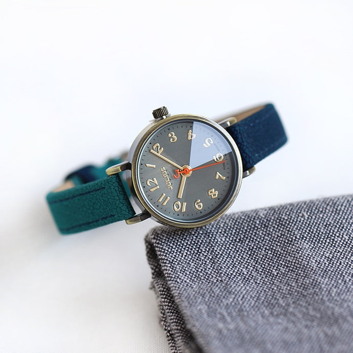 Sally - bicolored leather watch