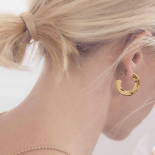 Load image into Gallery viewer, Ava - Chunky Loop Earrings - aalto-store