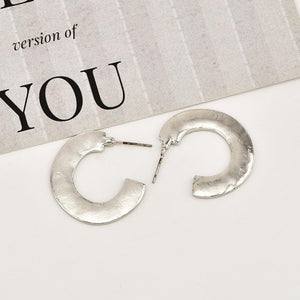 Ava - Chunky Loop Earrings - aalto-store