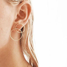 Load image into Gallery viewer, Bianca - Circle Stud Earrings - aalto-store