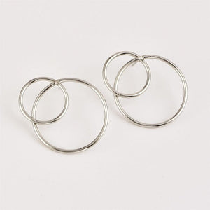 Bianca - Circle Stud Earrings - aalto-store