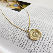 Load image into Gallery viewer, Hannah - Rose Coin Pendant - aalto-store