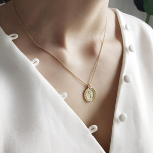 Hannah - Rose Coin Pendant - aalto-store